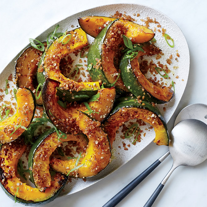 Food & Wine: Bulgur-Topped Squash