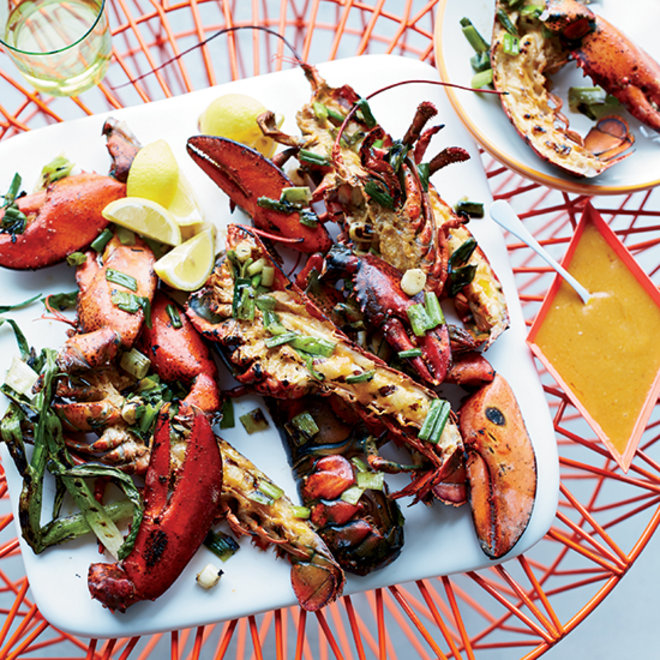 Food & Wine: Grilled Lobster with Miso-Chile Butter
