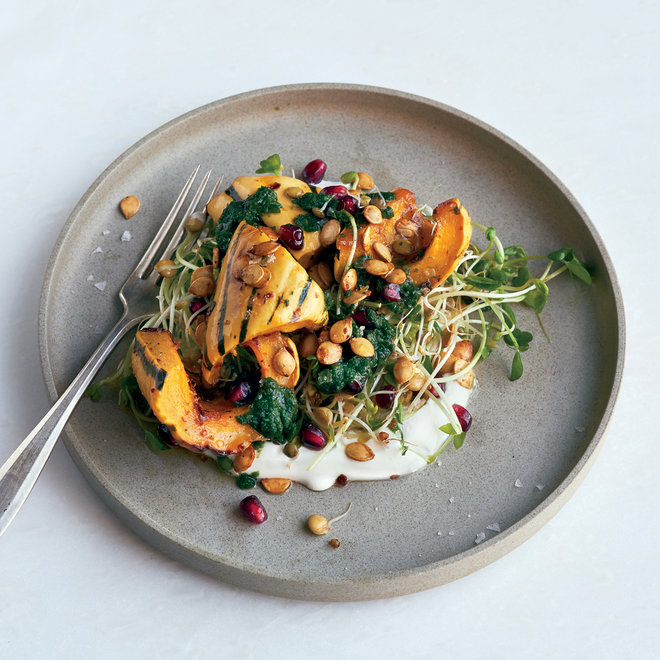 Food & Wine: Perfect Squash and Sprouts Bowl