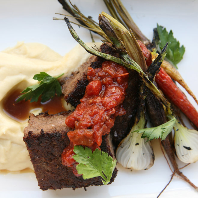 Food & Wine: The meatloaf at NYC's Root & Bone.