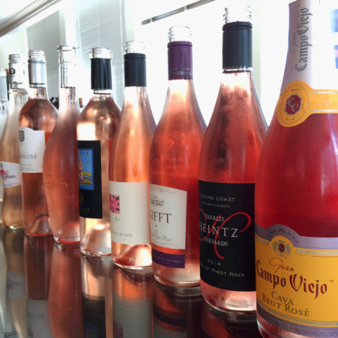 Food & Wine: Rosés for July 4th