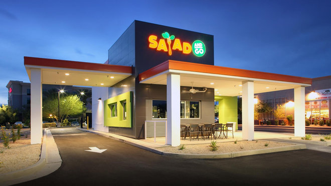 Salad and Go Fast Food Salads
