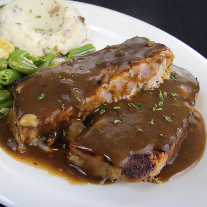 Food & Wine: Schmidt's German Meatloaf