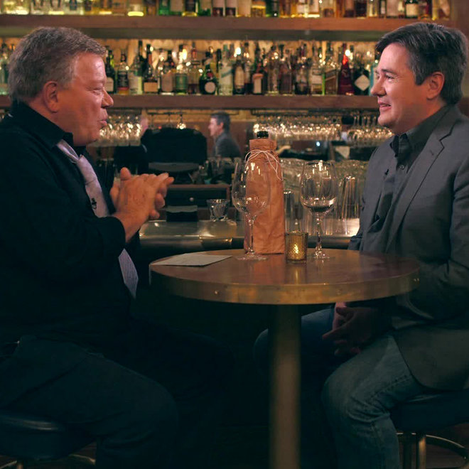 Food & Wine: William Shatner and Ray Isle.