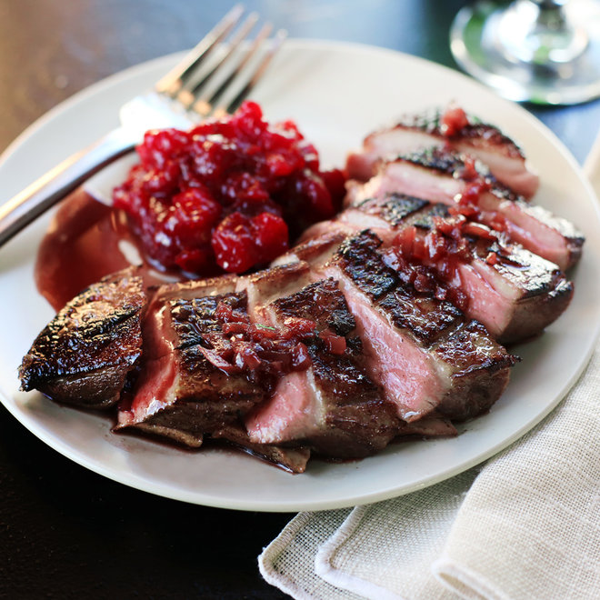 Food & Wine: Sous Vide Duck Breast with Port