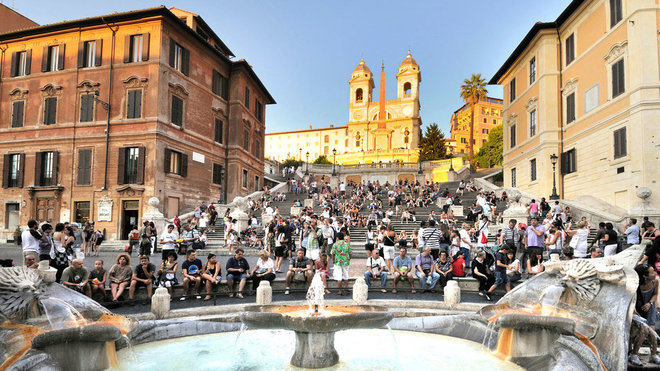 Food & Wine: Spanish Steps Re-open in Rome