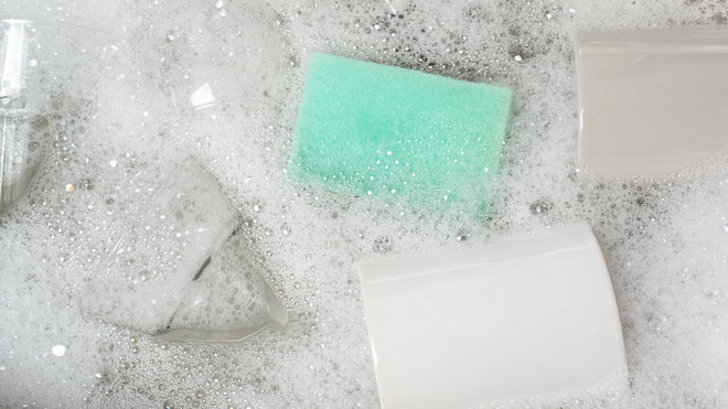 Cleaning Your Kitchen Sponge Isn't Making It Less Gross
