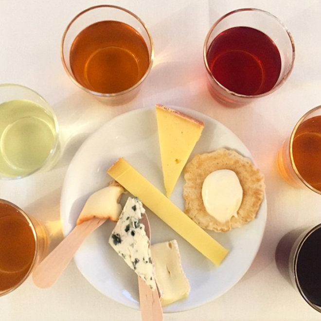 Food & Wine: Tea and Cheese