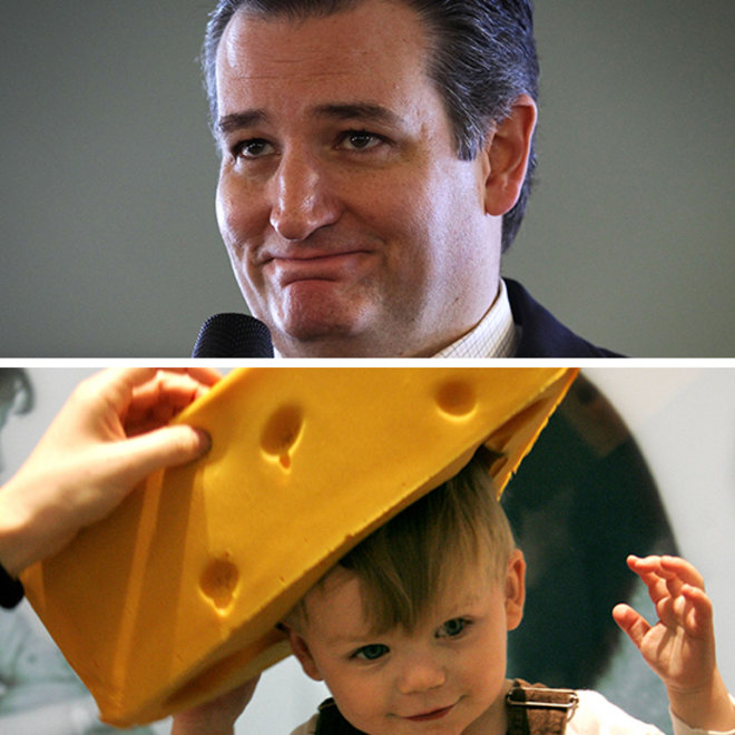 TED CRUZ WONT WEAR CHEESEHEAD FWX 1