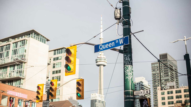 Food & Wine: Queen Street, Toronto