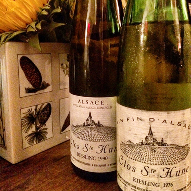 Food & Wine: Trimbach's Clos Ste Hune Riesling