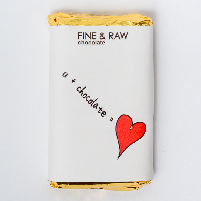 Food & Wine: FINE & RAW Valentine's Day Chocolate