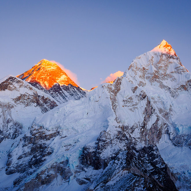 Mt Everest, Nuptse