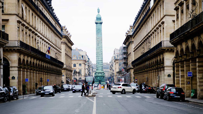 Food & Wine:  Where to Stay Around Paris' Place Vendome