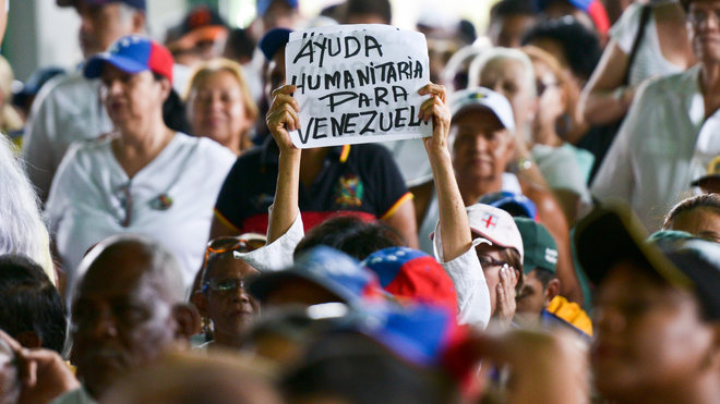 Food & Wine: Venezuela Opposition Protests