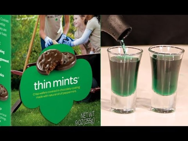 How to Turn Girl Scout Cookies into Shots
