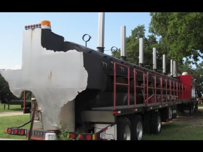 World's Largest 75-Foot BBQ Pit Can Be Yours