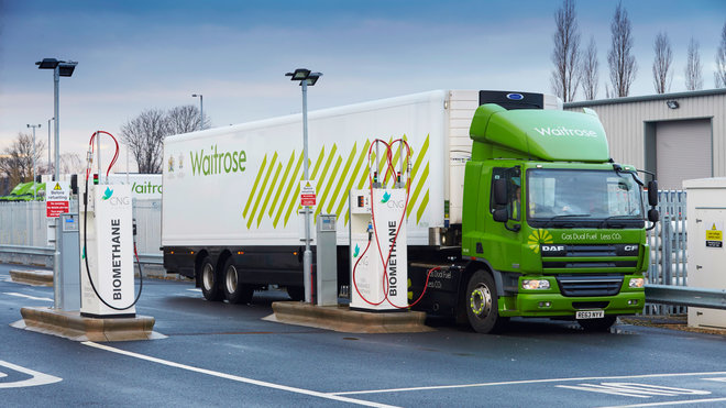 This Grocery Store Fuels Its Delivery Trucks With Food