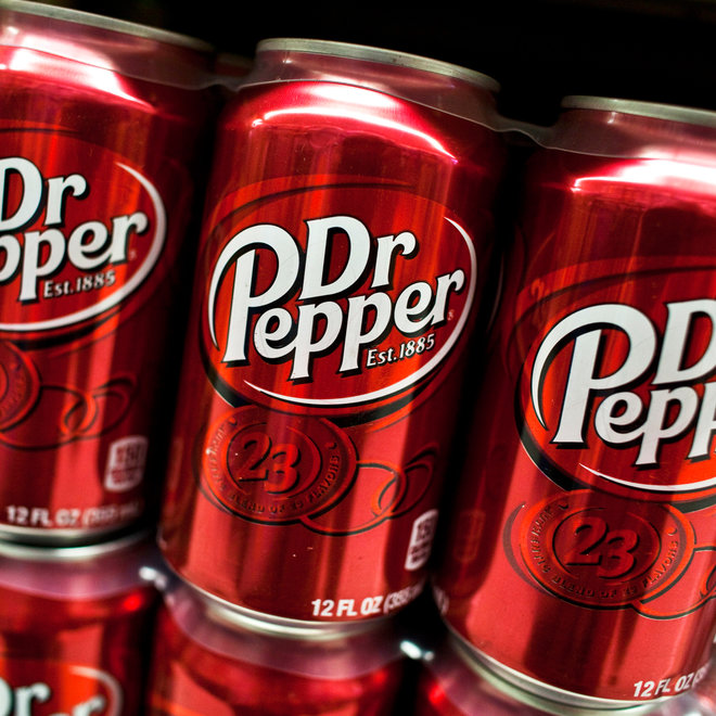 Dr. Pepper, Soda, Can