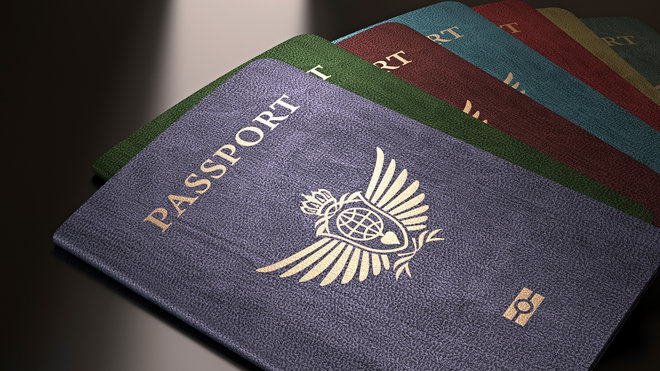 Food & Wine: passport, colors, Travel + Leisure