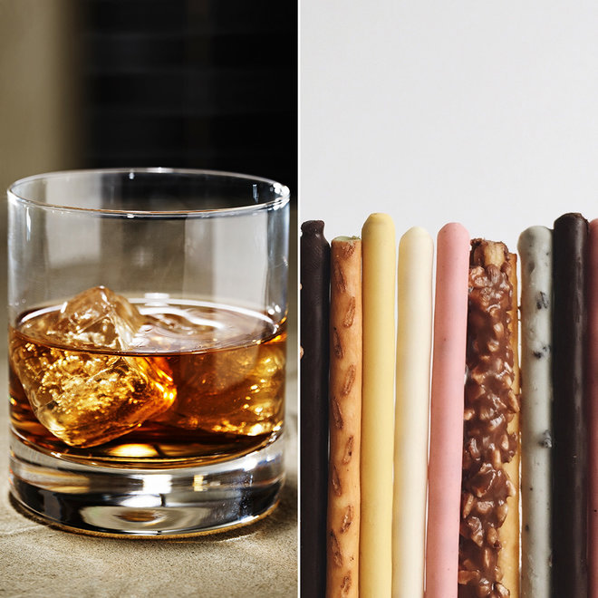 Whiskey and Pocky