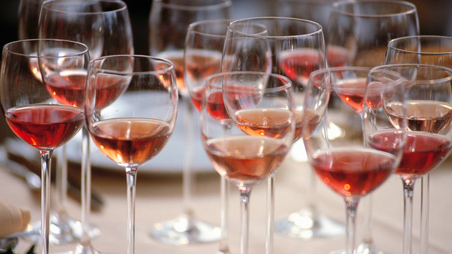 Food & Wine: White Zin and Rose Wine