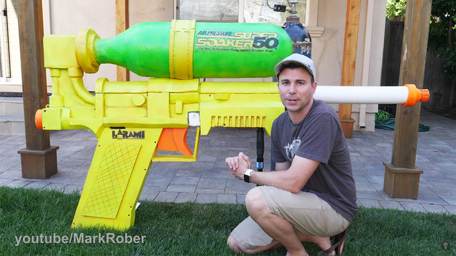youtube largest super soaker in the world