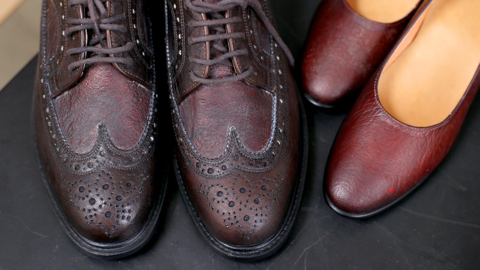 Food & Wine: Vegan-Leather Shoes