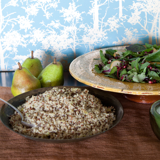 Food & Wine: Quinoa-Leek Pilaf