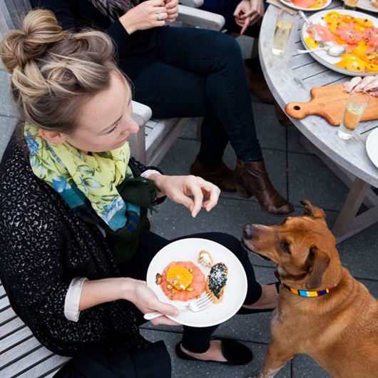 Food & Wine: Nicole Franzen Hosts and Photographs an F&W Party