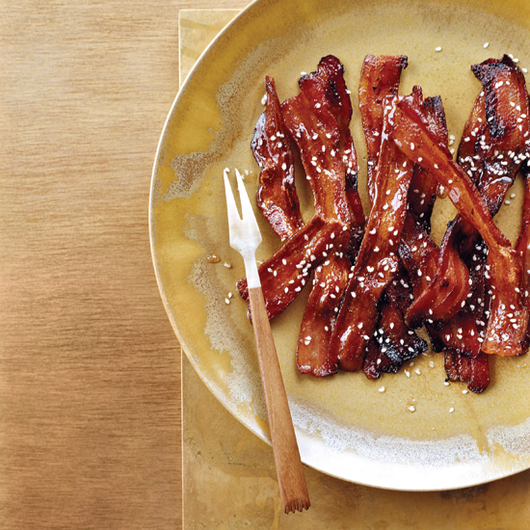 Food & Wine: Spicy Honey-Glazed Bacon
