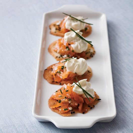 Food & Wine: The Easy Way to Make Thomas Keller's Signature Salmon Cornets