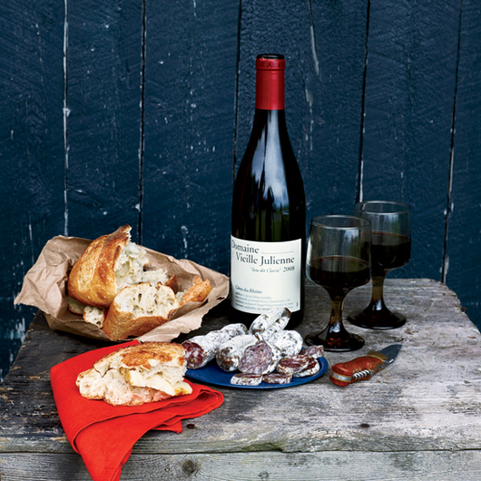 Food & Wine: Red wine and charcuterie at Montreal's Joe Beef.
