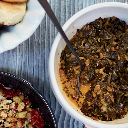 Food & Wine: Hugh Acheson's Collard Greens Are Better Than Your Grandmother's