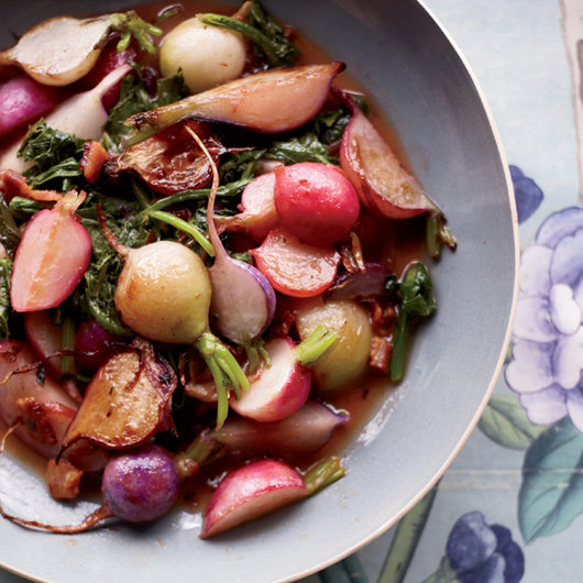 Food & Wine: Emeril Lagasse's Bacony Sauteed Radishes
