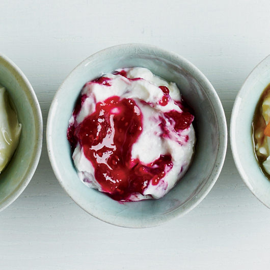 Food & Wine: Greek-Style Yogurt with Mixed Berry Conserve