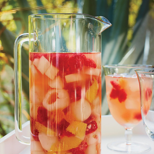 Food & Wine: Riesling Sangria with Lychees