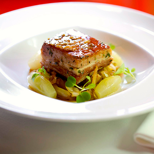 Food & Wine: Cathal Armstrong's Pork Belly