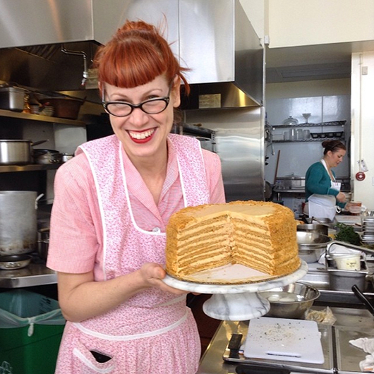 Food & Wine: Honey Cake at 20th Century Cafe
