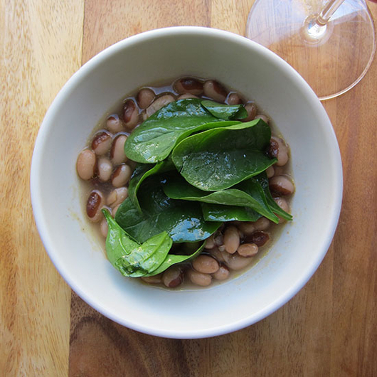 Food & Wine: Simplest, Most Delicious Beans with Chianti