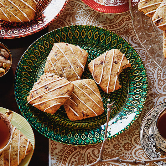 Food & Wine: Dried Cherry & Pistachio Sugar Cookies