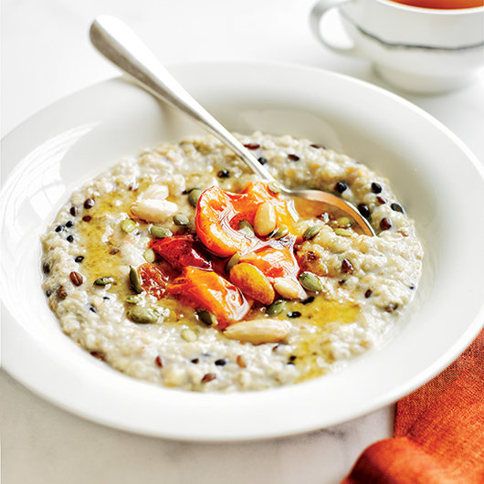 Food & Wine: Mashed Banana & Whole-Grain Porridge recipe