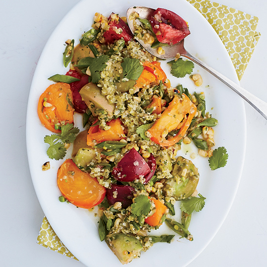 Food & Wine: Summer Market Salad with Jalapeño Dressing
