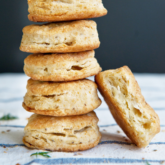 Food & Wine: Dill Seed Biscuits