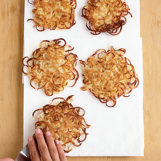 Food & Wine: Kate's Supercrispy Potato Latkes