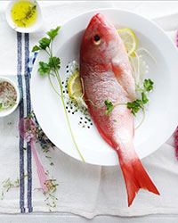Food & Wine: Local fish. Isn't it beautiful?