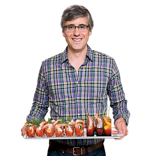 Food & Wine: Humorist, journalist and actor Mo Rocca