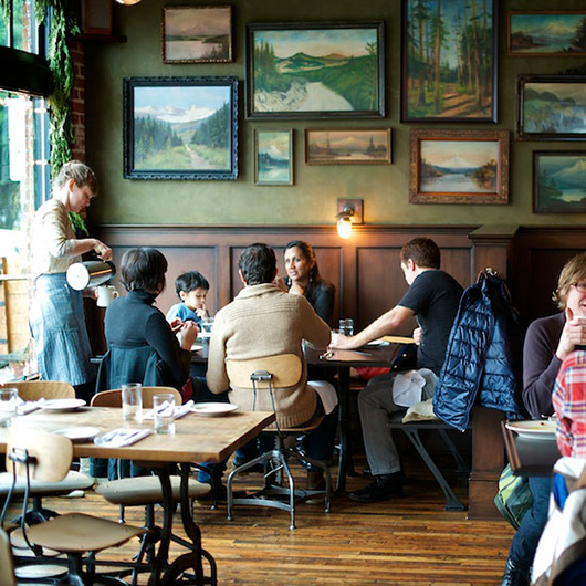Food & Wine: The Woodsman Tavern in Portland, OR