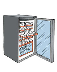 Food & Wine: What to look for in a wine fridge