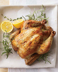 Food & Wine: Herb-and-Lemon-Roasted Chicken